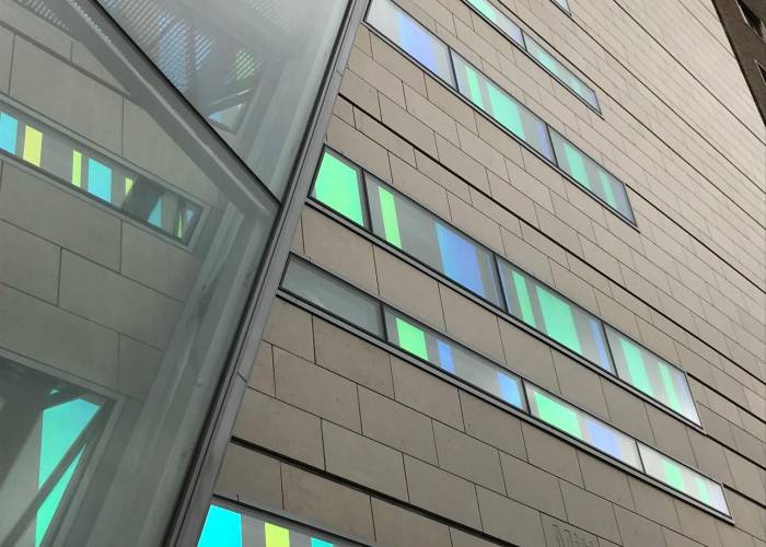 Transforming Great Ormond Street Hospital with dichroic colour change window film