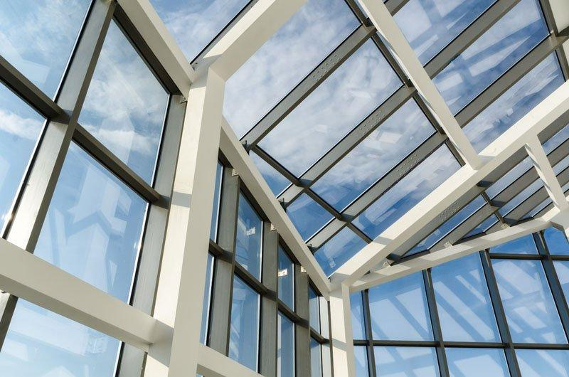 Overhead Glazing Systems : Overhead glazing glass containment systems